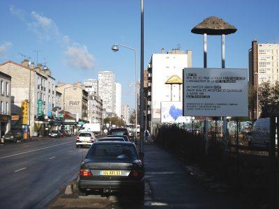 Panneaux de chantier HQAC — Trans305 / Stefan Shankland