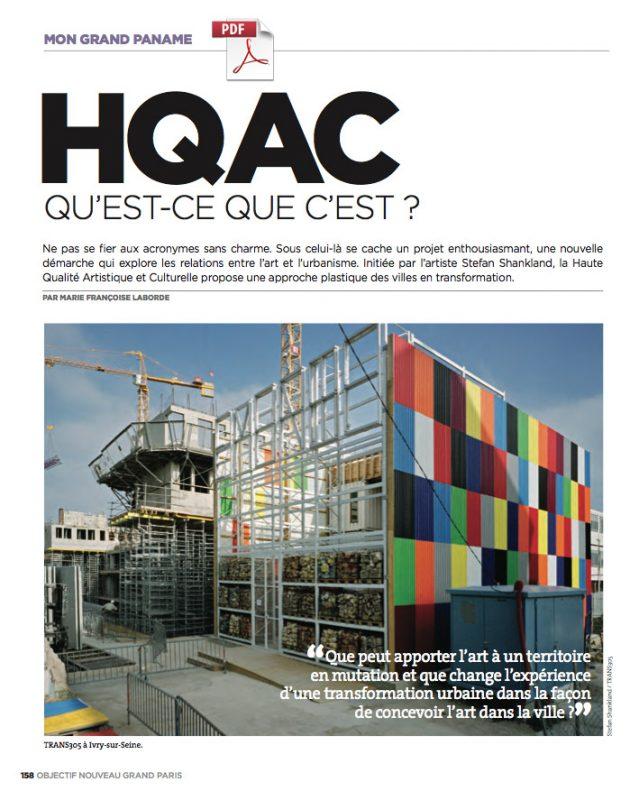 HQAC qu'est-ce que c'est? Trans305 / Stefan Shankland