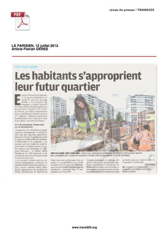 Le Parisien Trans305 / Stefan Shankland