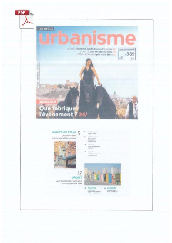 Urbanisme Trans305 / Stefan Shankland